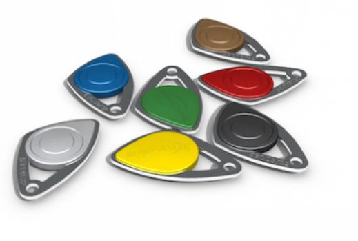 Badges numérotés gravés